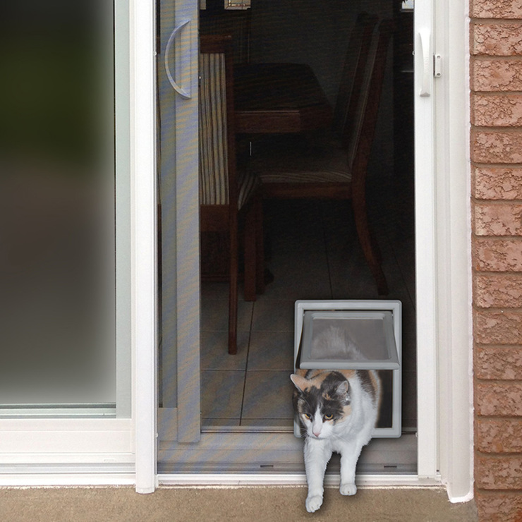 Ideal Pet Products Screen Fit puerta para gato