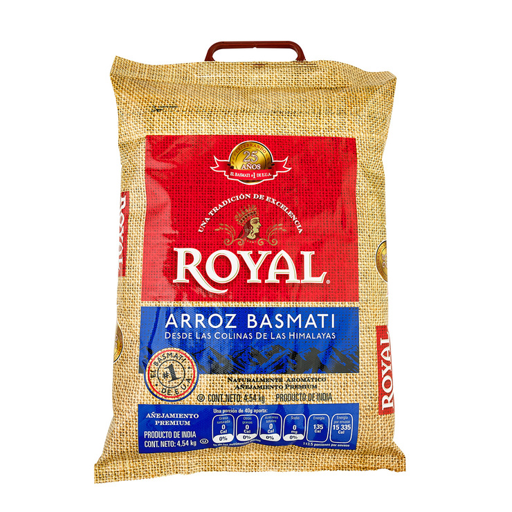Arroz Basmati Royal 4.5KG