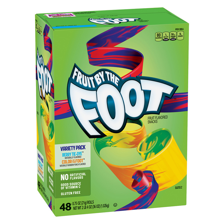 Fruit by the Foot rollo de caramelo suave con fruta 1.02 kg