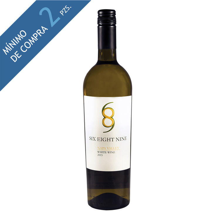 Vino Blanco Six Eight Nine White Blend 750ml