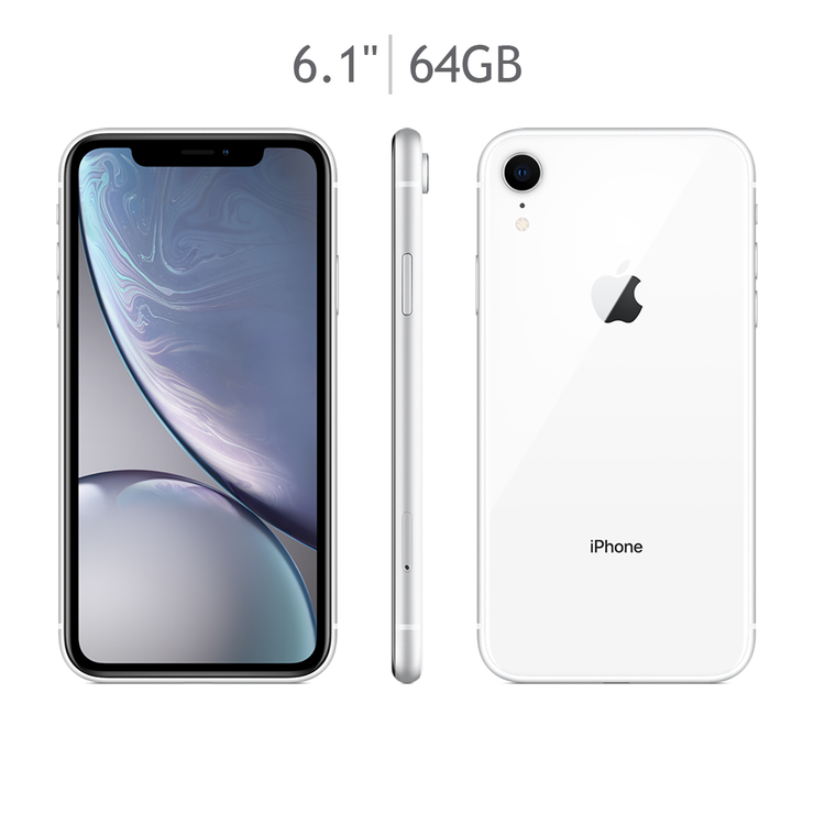 Apple iPhone XR 64GB Blanco (Telcel)