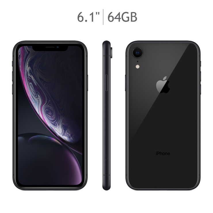 Apple iPhone XR 64GB Negro (Telcel)