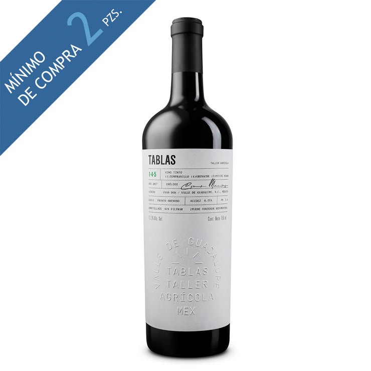 Vino Tinto Tablas 750 ml