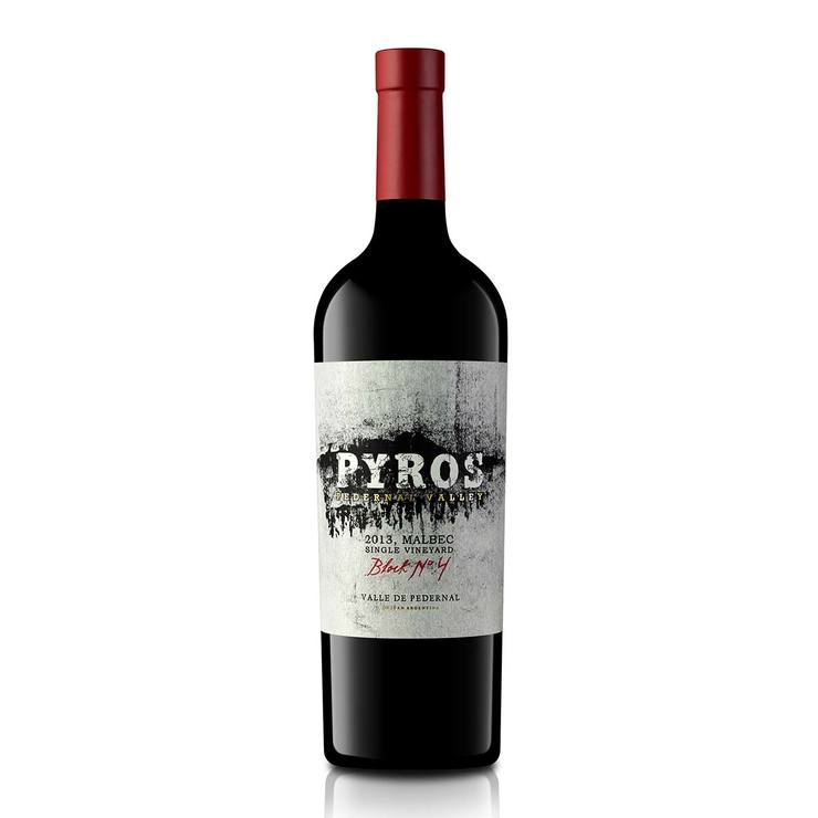 Vino Tinto Pyros Single Vineyard Malbec 750ml