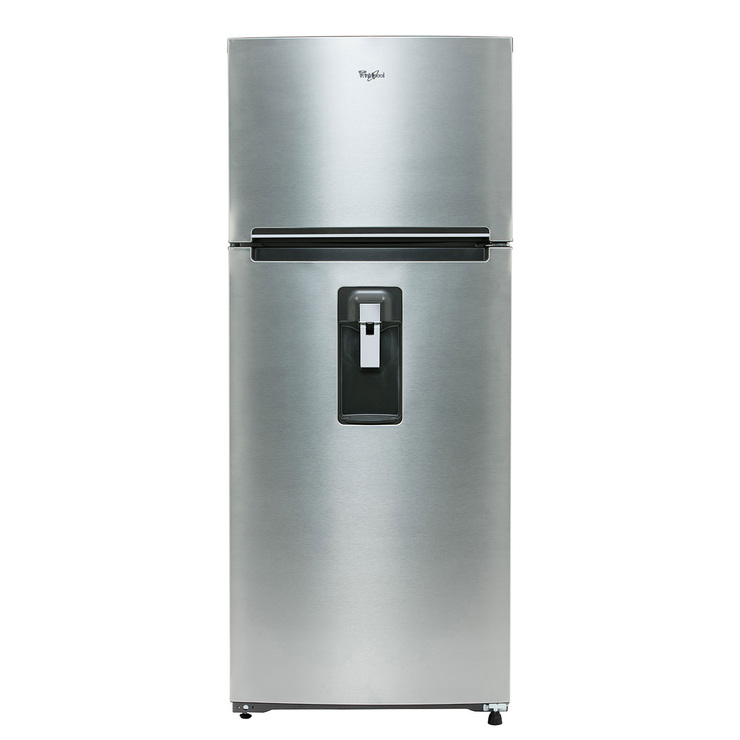 Refrigerador Whirlpool de 18' Top Mount Multiflow, Acero inoxidable