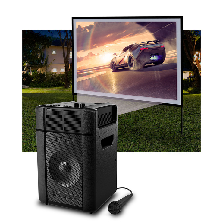ION Projector Plus, Karaoke y Proyector LED