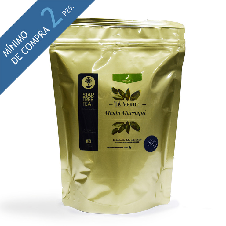 Té Verde Menta Marroqui Star Tree Tea 250 gr