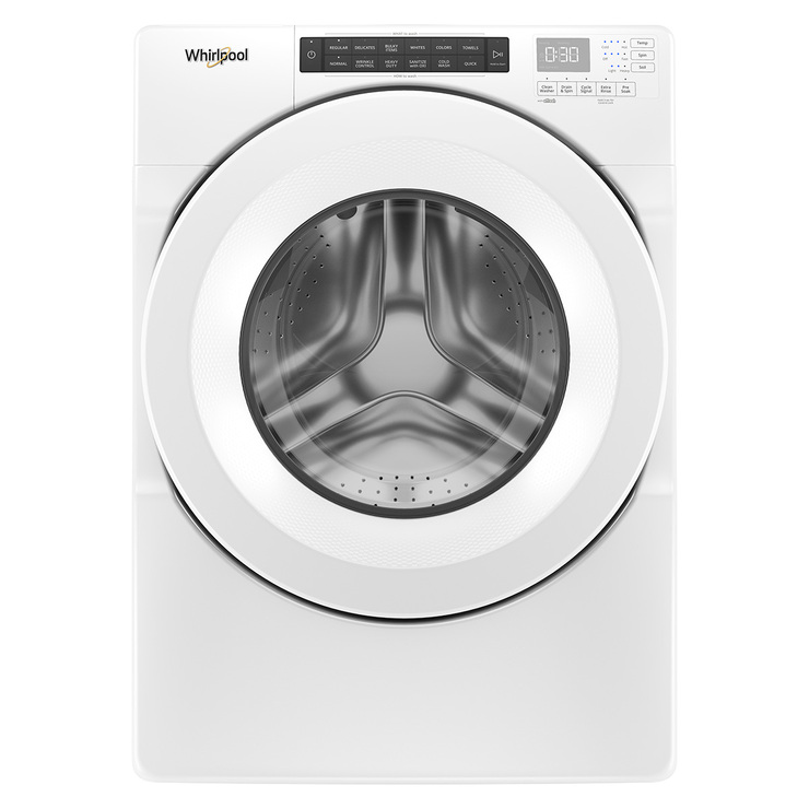 Lavadora Whirlpool de 18Kg carga frontal, color blanco