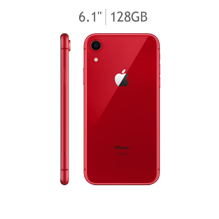 Apple iPhone XR 128GB Rojo (Telcel)