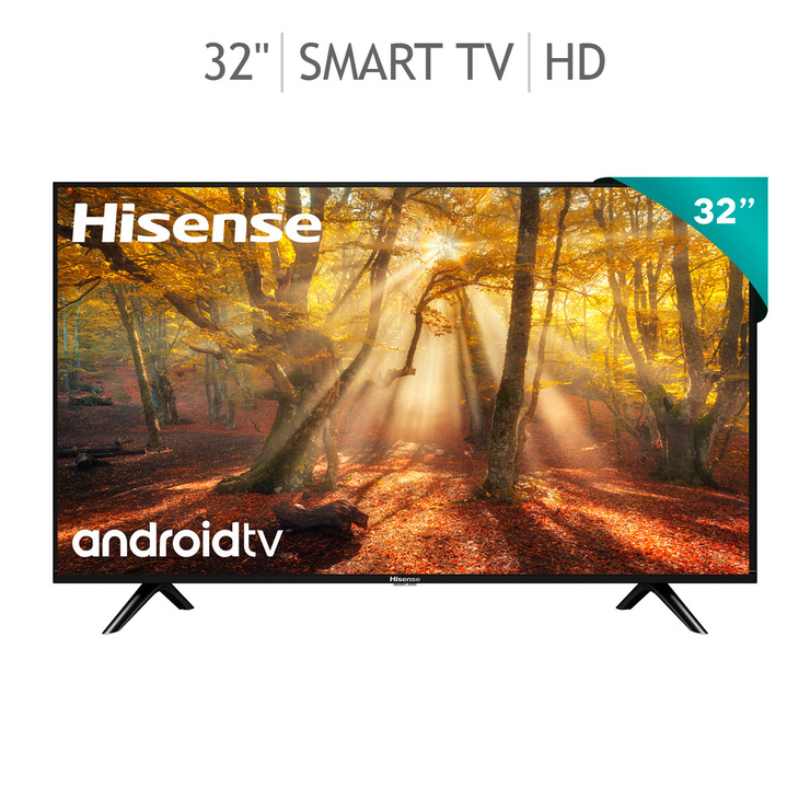 "Hisense Pantalla 32"" LED HD Smart TV"