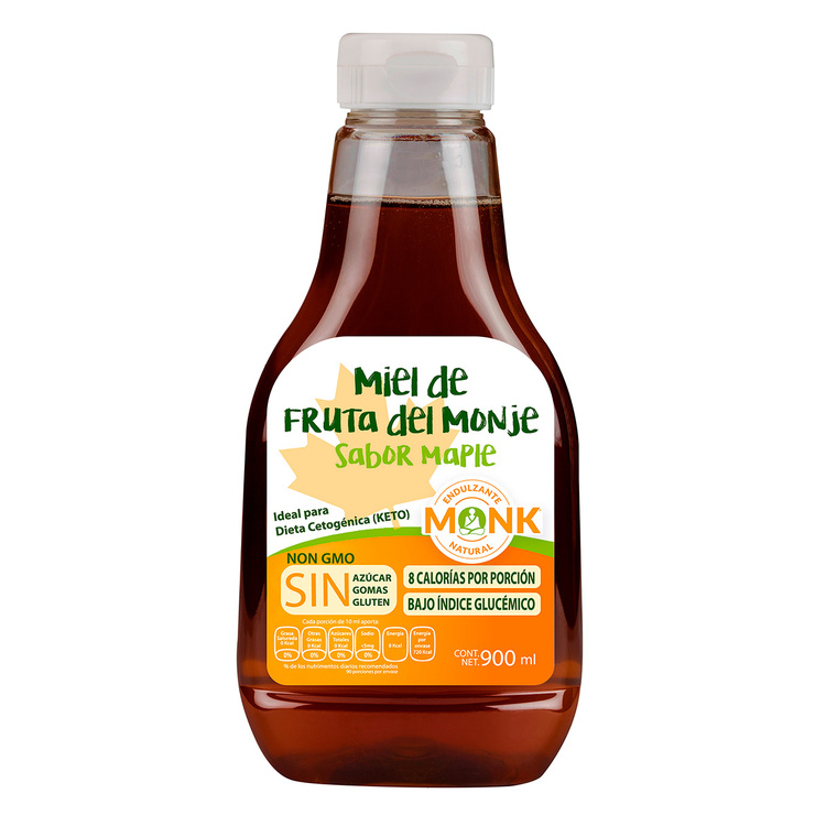 Miel de Fruta de Monje Sabor Maple  Monk  900 ml