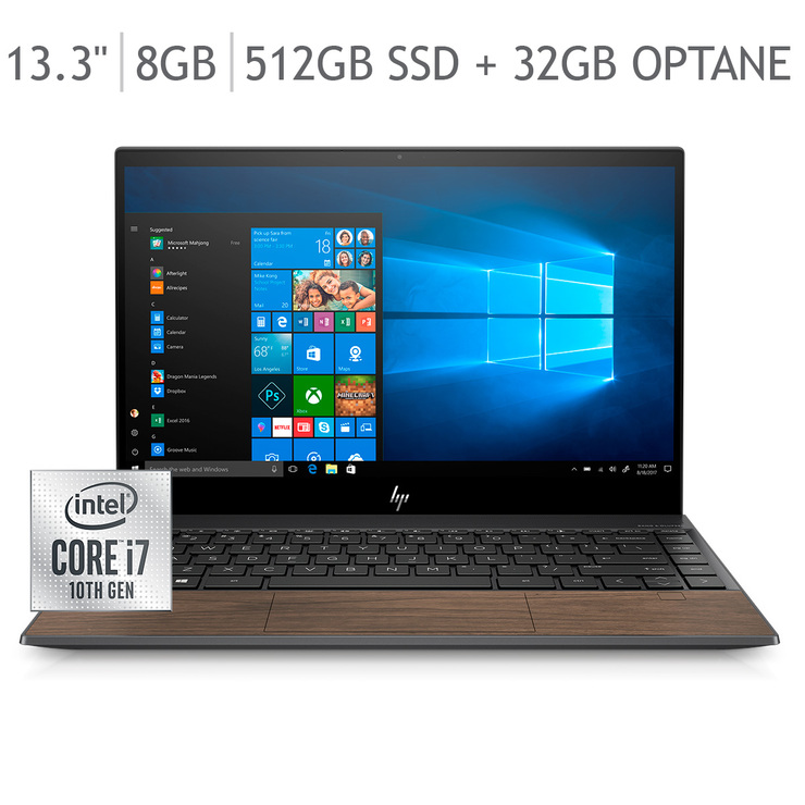 "HP Envy Laptop 13.3"" CI7 8GB 512GB SSD"