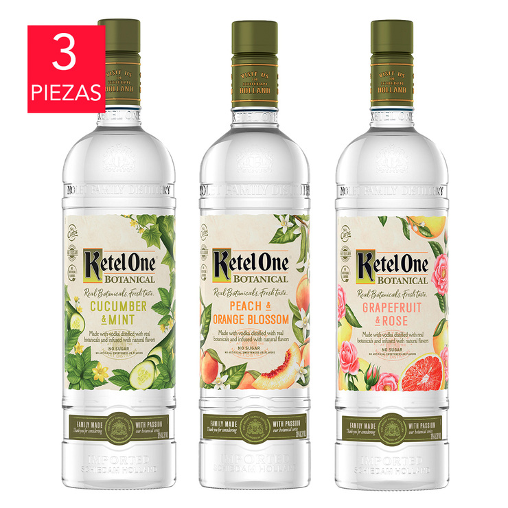Vodka Ketel One Botanical 3/750ml